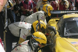#64 Corvette Racing Corvette C6R in the pits