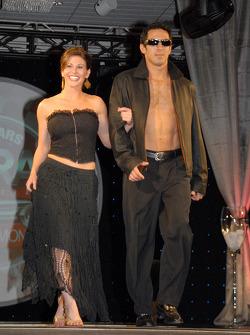 Jeff Simmons and WRTV-TV's Stephanie Soviar