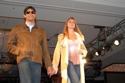 Thiago Medieros and girlfriend Aline