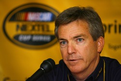 Greg Stucker, Director of Racing Tires Sales and Marketing for Goodyear, at a press conference
