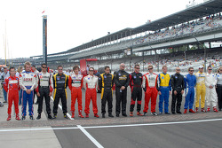 Freedom 100 drivers' lineup