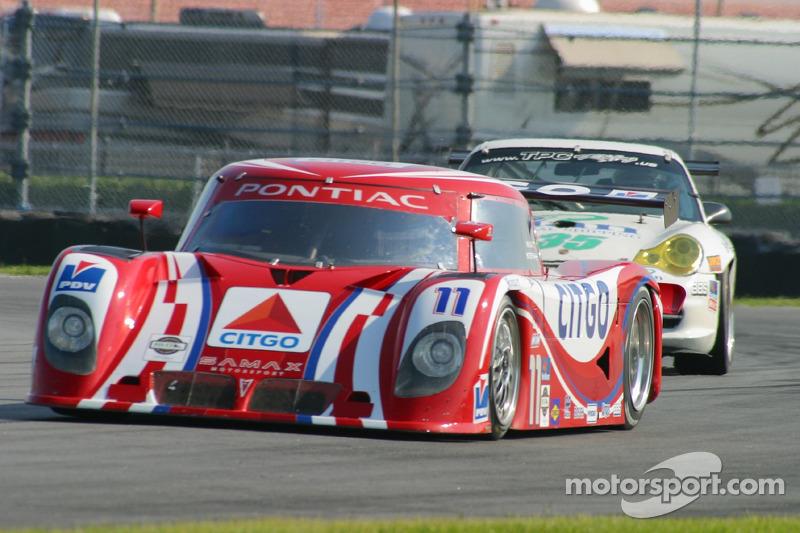 #11 CITGO Racing by SAMAX Pontiac Riley: Milka Duno, Stefan Johansson
