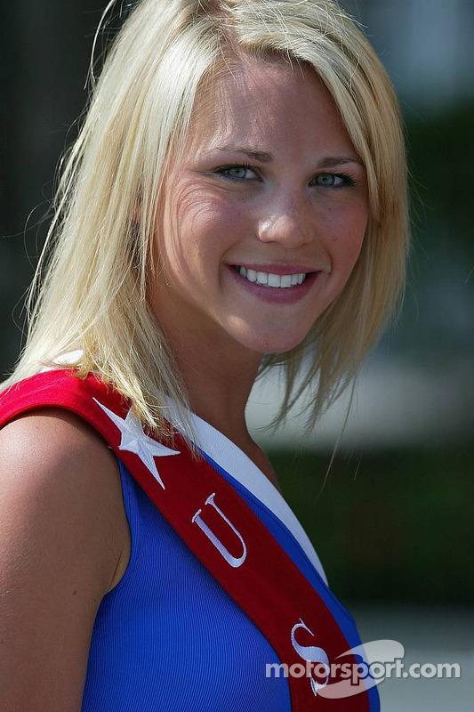 Une jeune femme de US GP
