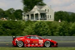 #62 Risi Competizione Ferrari 430 GT Berlinetta: Marc Gene, Mario Dominguez