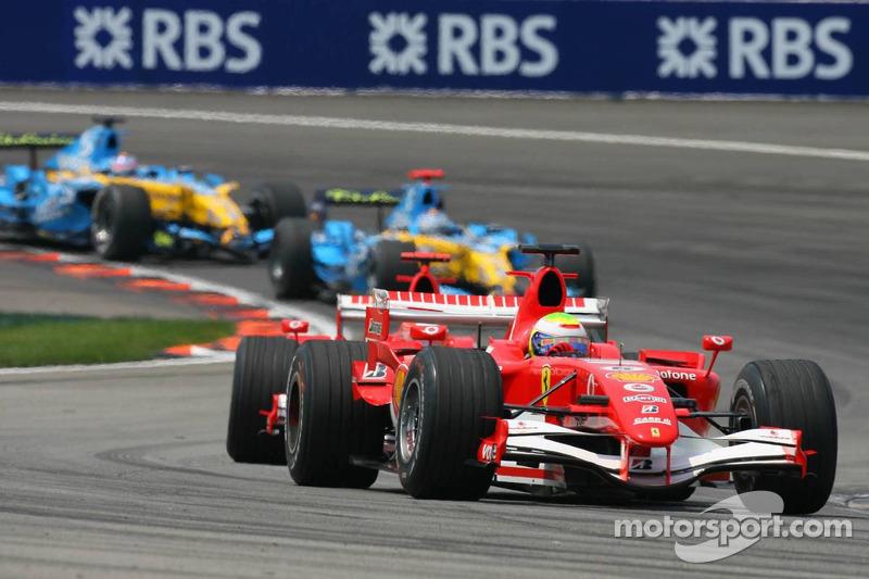 Felipe Massa prend la tête