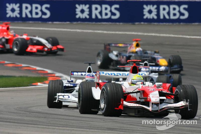 Ralf Schumacher y Jacques Villeneuve