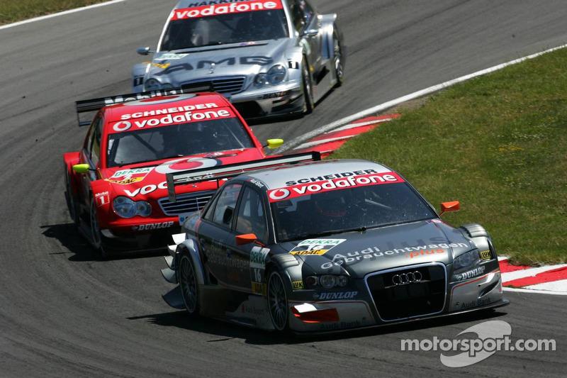 Timo Scheider devance Bernd Schneider et Mika Hakkinen