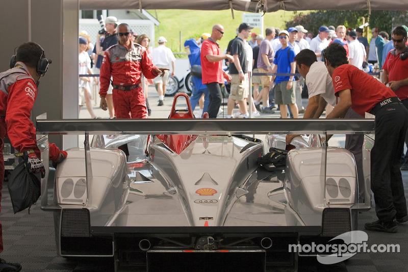 Zone de garage de l'Audi Sport