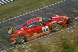 #58 AF Corse Ferrari 430 GT2: Matteo Bobbi, Jaime Melo