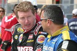 Bill Elliott discusses qualifying with Kevin Lepage