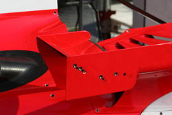 The adjustable small wings on the side winglets on the Ferrari F2006