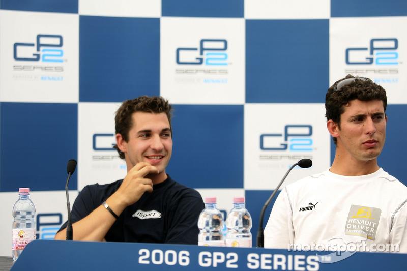 Le vainqueur de la pole position Jose Maria Lopez