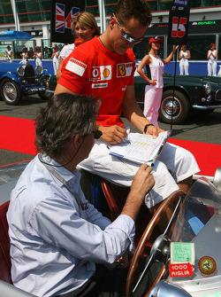 Parade des pilotes: Michael Schumacher