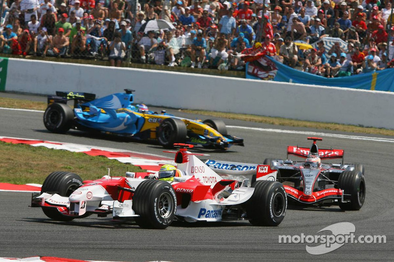 Ralf Schumacher et Kimi Räikkönen