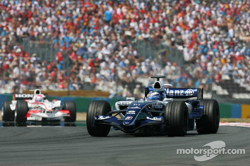 Nico Rosberg devance Franck Montagny