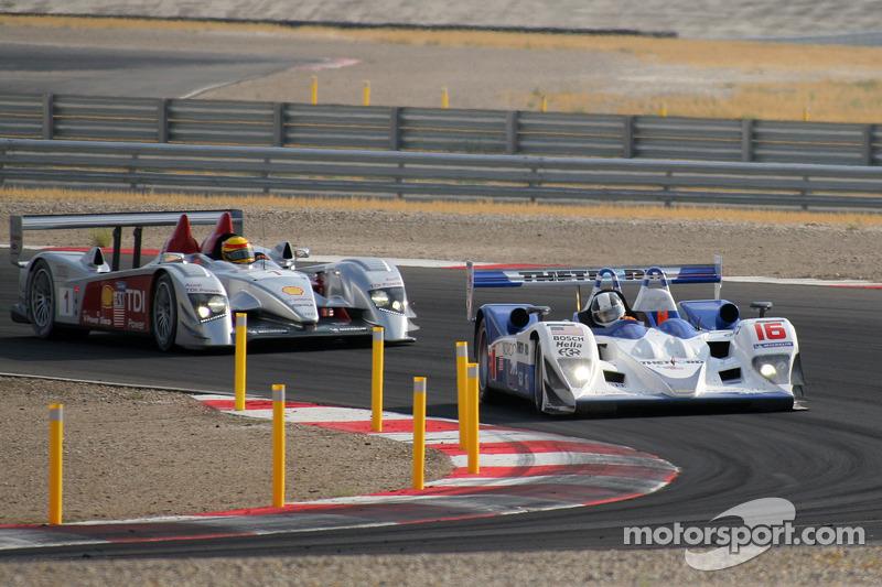 #16 Dyson Racing Team Lola B06/10 AER: James Weaver, Butch Leitzinger