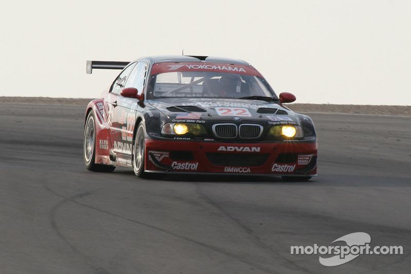 #22 L'équipe PTG BMW E46 M3: Justin Marks, Bryan Sellers, Martin Jensen