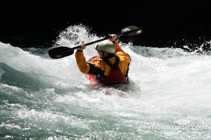 Un kayakiste