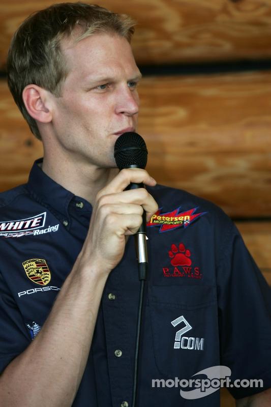 Evénement des fans de pilotes ALMS à Portland : Jorg Bergmeister