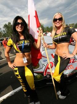 Charming Pirelli girls
