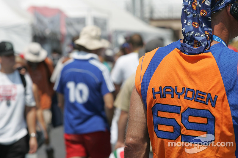 Un fan de Nicky Hayden