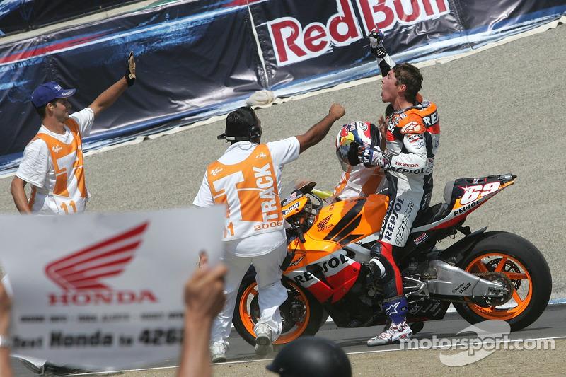 Pemenang balapan, Nicky Hayden