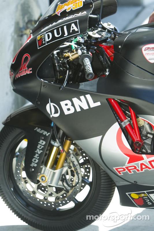 Détail de la Dantin Ducati
