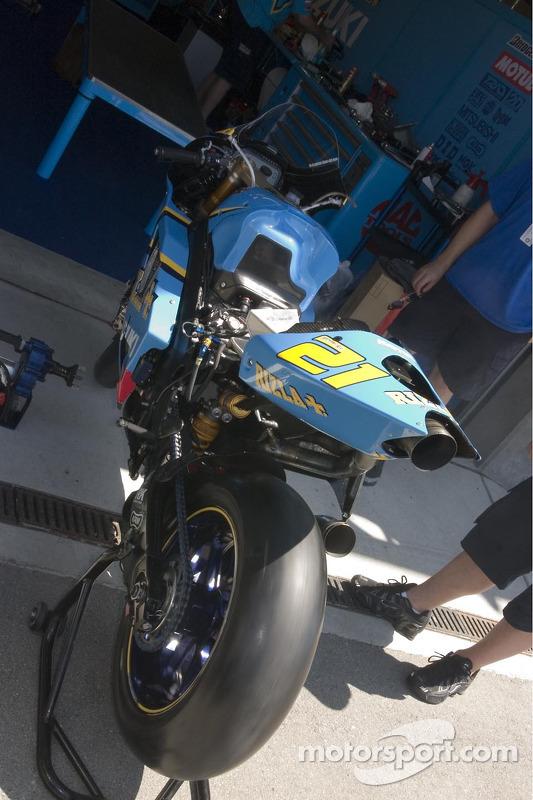 Máquina de MotoGP de John Hopkins