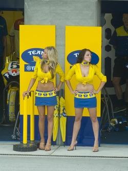 Девушки Yamaha