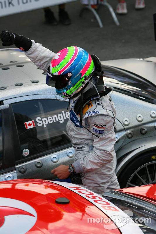 Le vainqueur de la course Bruno Spengler