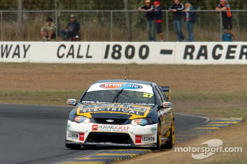 Adam Macrow sur le chemin de la pole position