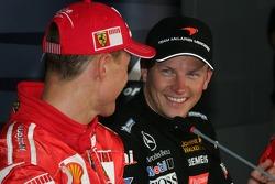 Conferencia de prensa FIA: Michael Schumacher y Kimi Raikkonen