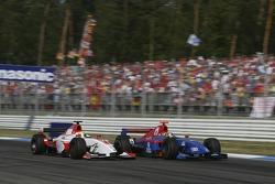 Lewis Hamilton and Ernesto Viso