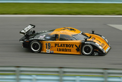 #19 Playboy/ Uniden Racing Ford Crawford: Michael McDowell, Memo Gidley, Guy Cosmo
