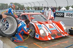 #11 CITGO Racing by SAMAX Pontiac Riley: Marc Goossens, Milka Duno, Stefan Johansson