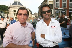 Parade in Spa: Jean-François Chaumont and Stéphane Ratel