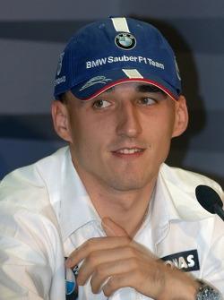 Conferencia de prensa FIA: Robert Kubica