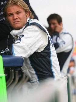 Nico Rosberg and Mark Webber