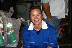 Jeff Gordon Foundation bowling tournament: Sarah Fisher