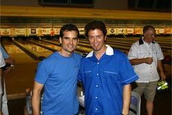 Jeff Gordon Foundation bowling tournament: Jeff Gordon and pro bowling star Danny Wiseman