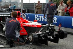 Midland F1 team member at work