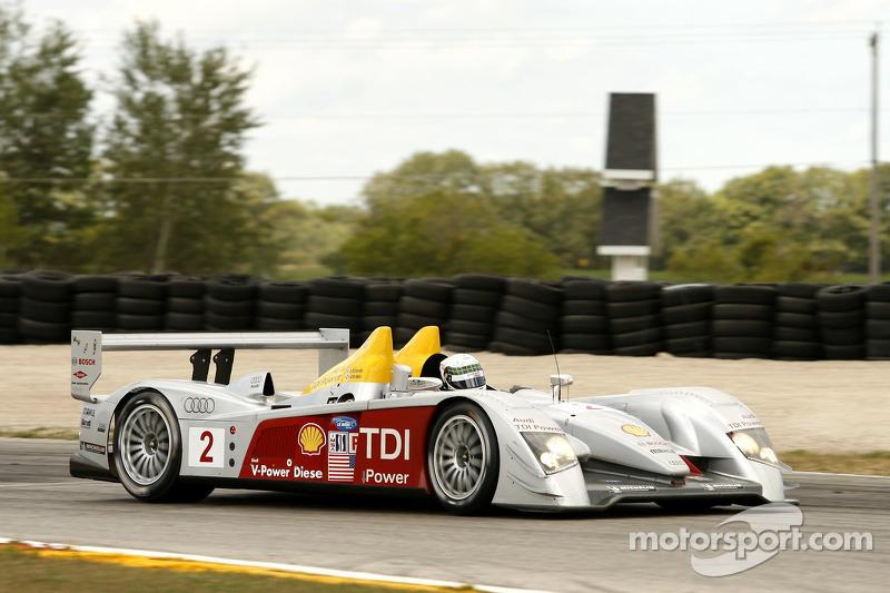 #2 Audi Sport North America Audi R10 TDI Power: Rinaldo Capello, Allan McNish
