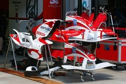 Super Aguri F1 Team car parts