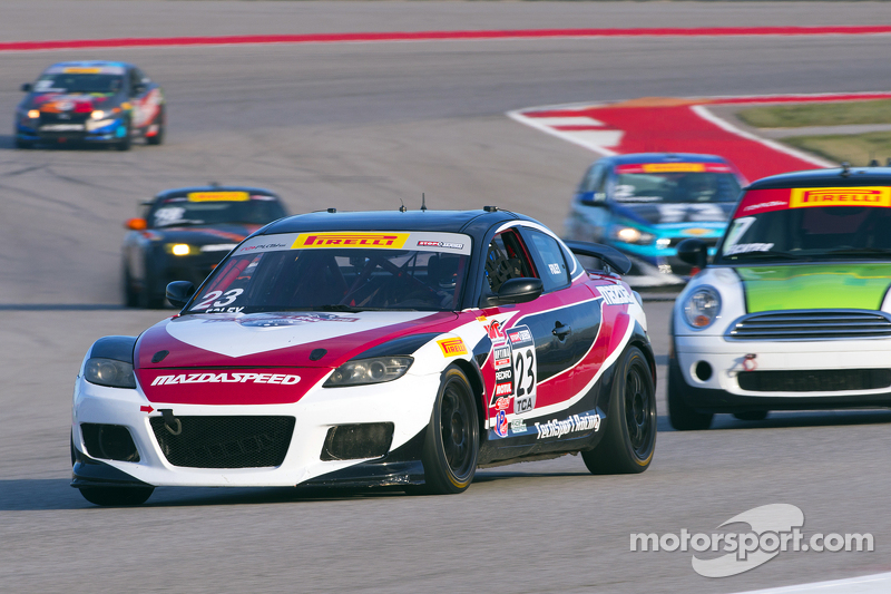 #23 Tech Sport Racing, Mazda RX8: Robby Foley