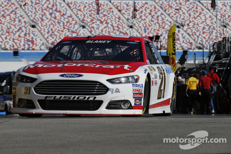 Ryan Blaney, Woods Brothers Racing, Ford