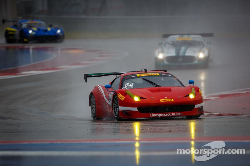 #64 Scuderia Corsa 法拉利 458 Italia: Duncan Ende