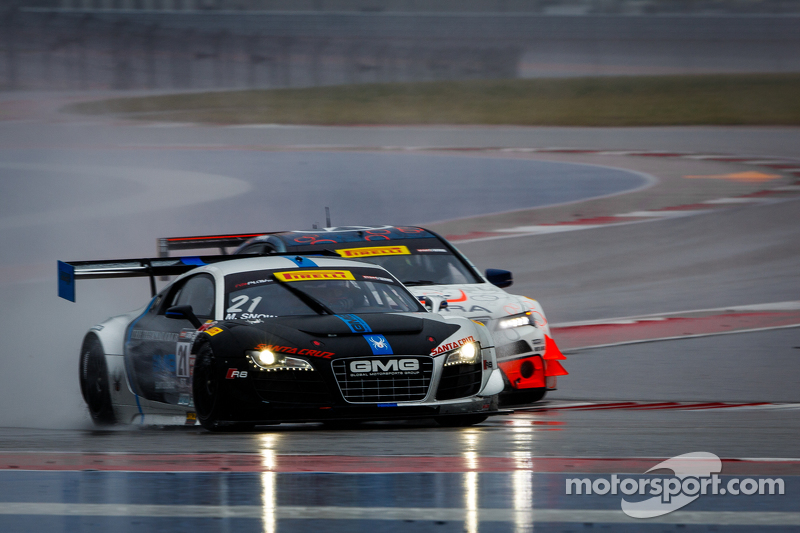 #21 Global Motorsports Group Racing, Audi R8 LMS Ultra: Madison Snow