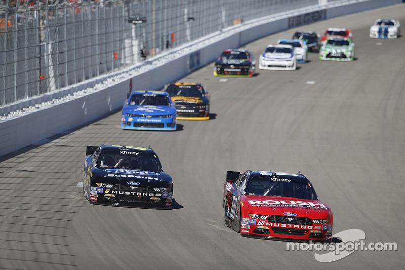 Даррелл Уоллес-молодший, Roush Fenway Racing Ford та Chris Beuscher, Roush Fenway Racing Ford