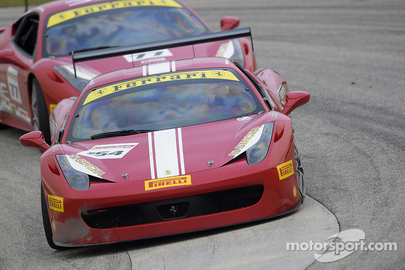 #154 Ferrari of Central Florida, Ferrari 458CS: Michael Luzich
