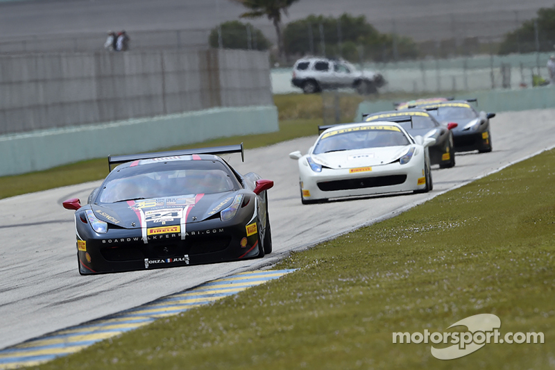 #24 Midwestern Auto Group, Ferrari 458: Mark Kvamme